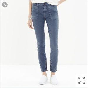 Madewell Skinny Fatigue Pants